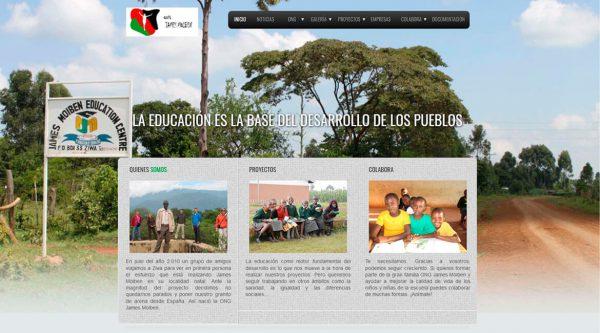 Fundación James Moiben, Kenia