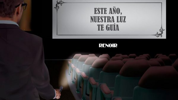 Christmas Trazos - Cines Renoir