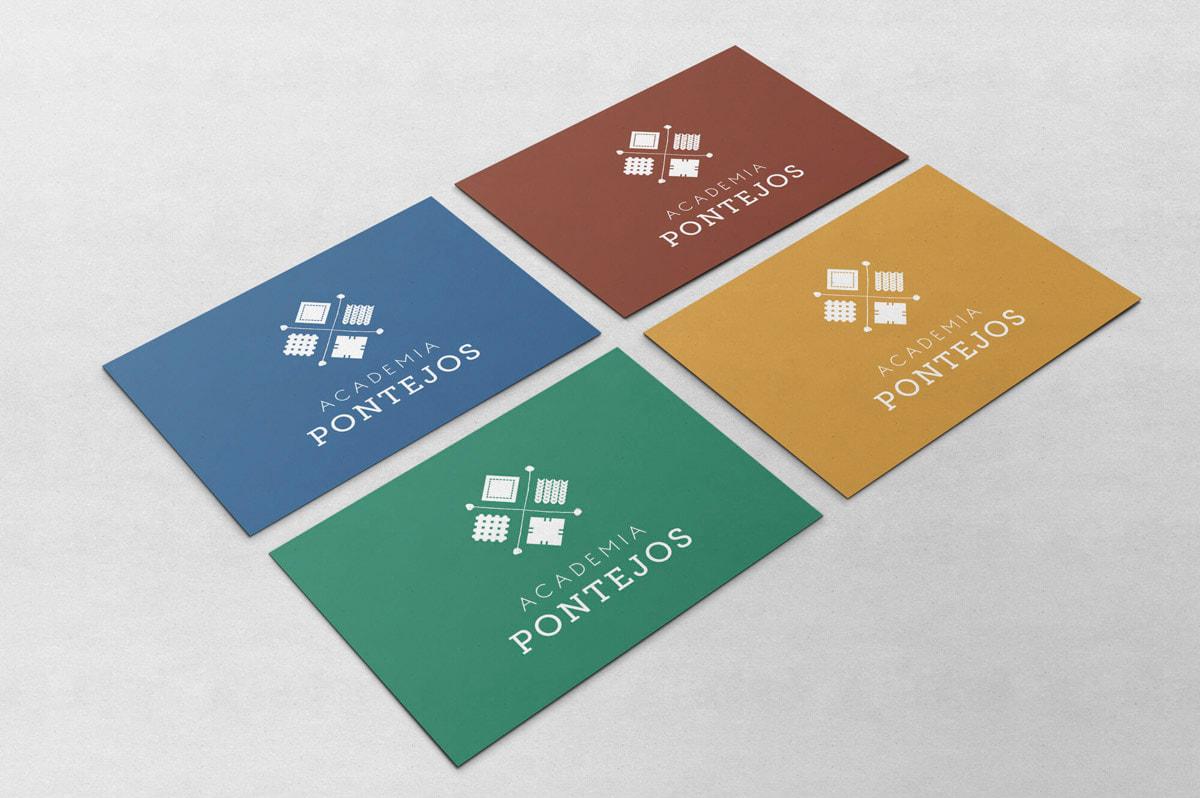 Diseño de logotipo para Academia Pontejos