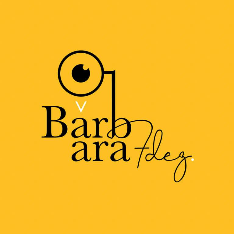Diseño de logotipo para la fotógrafa y cineasta Bárbara Fdez