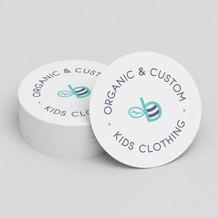 Diseño de identidad corporativa para marca de ropa