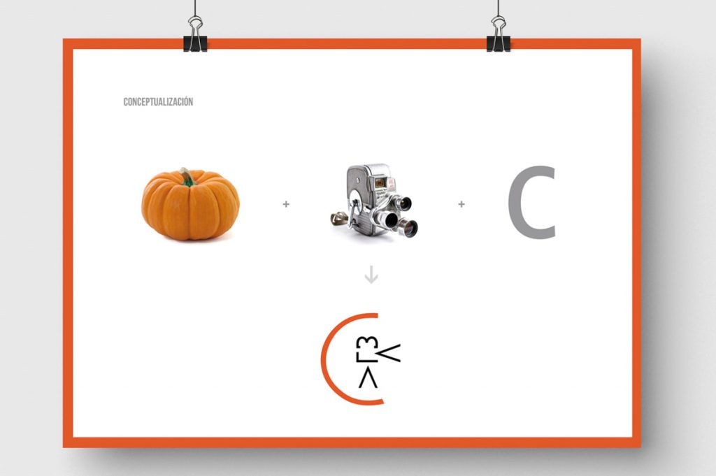 Creación de nombre de marca para Calabaza Producciones