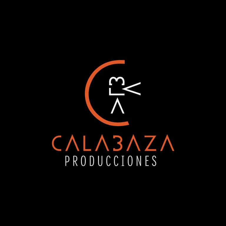 Diseño de logotipo y naming para Calabaza Producciones