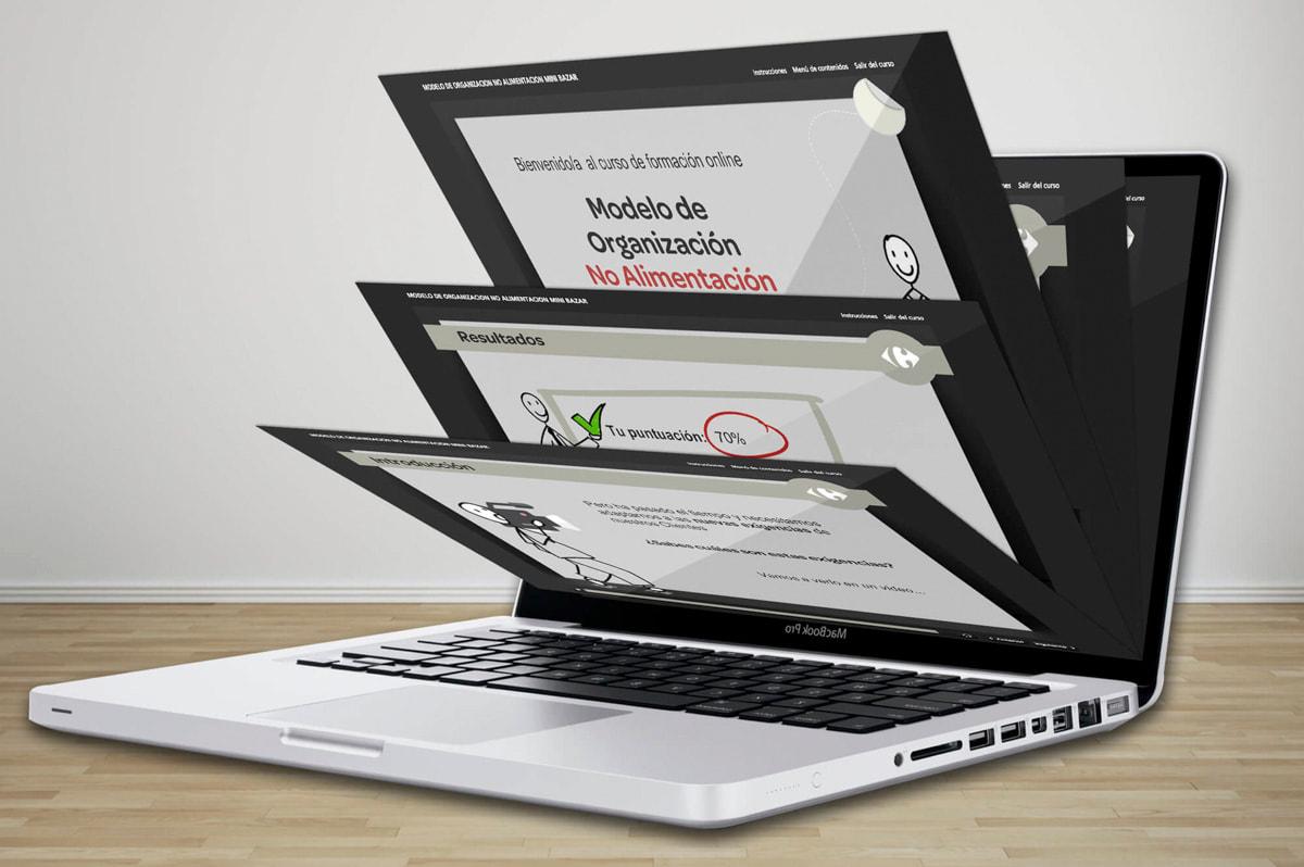 e-learning para el Centro de Formación de Carrefour