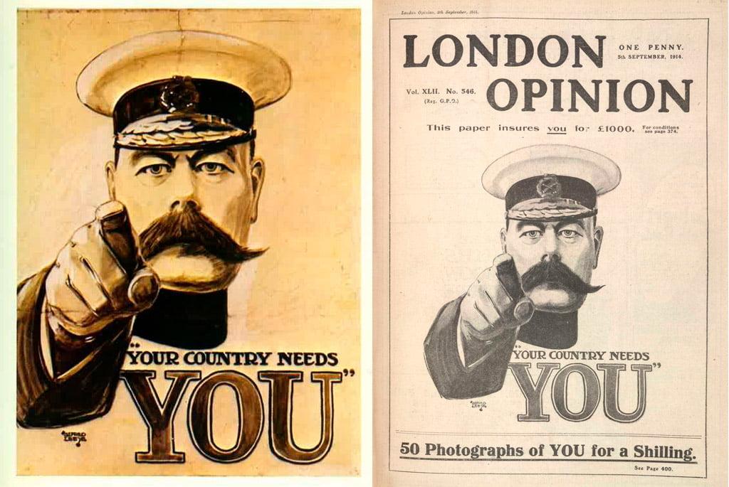 Alfred Leete - Kitchener - London Opinion