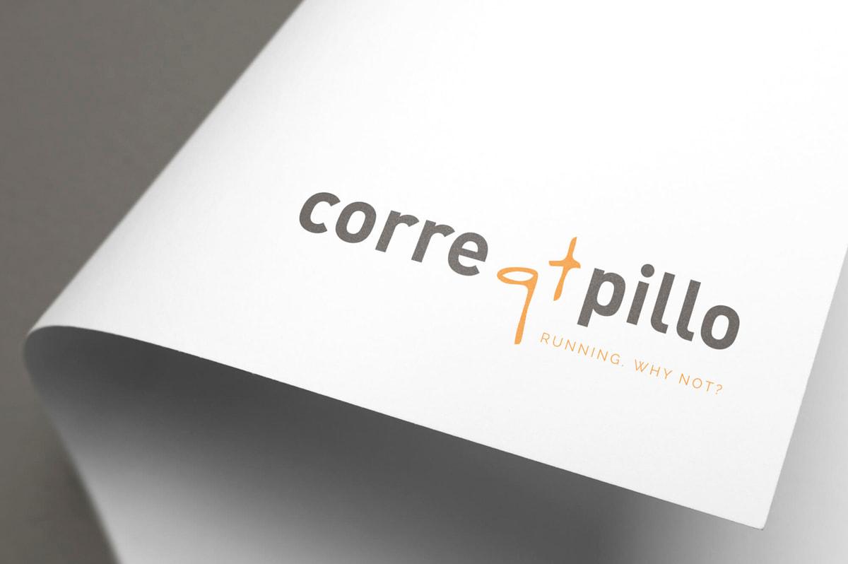 Diseño de marca personal para el Blog de running Corre qt pillo