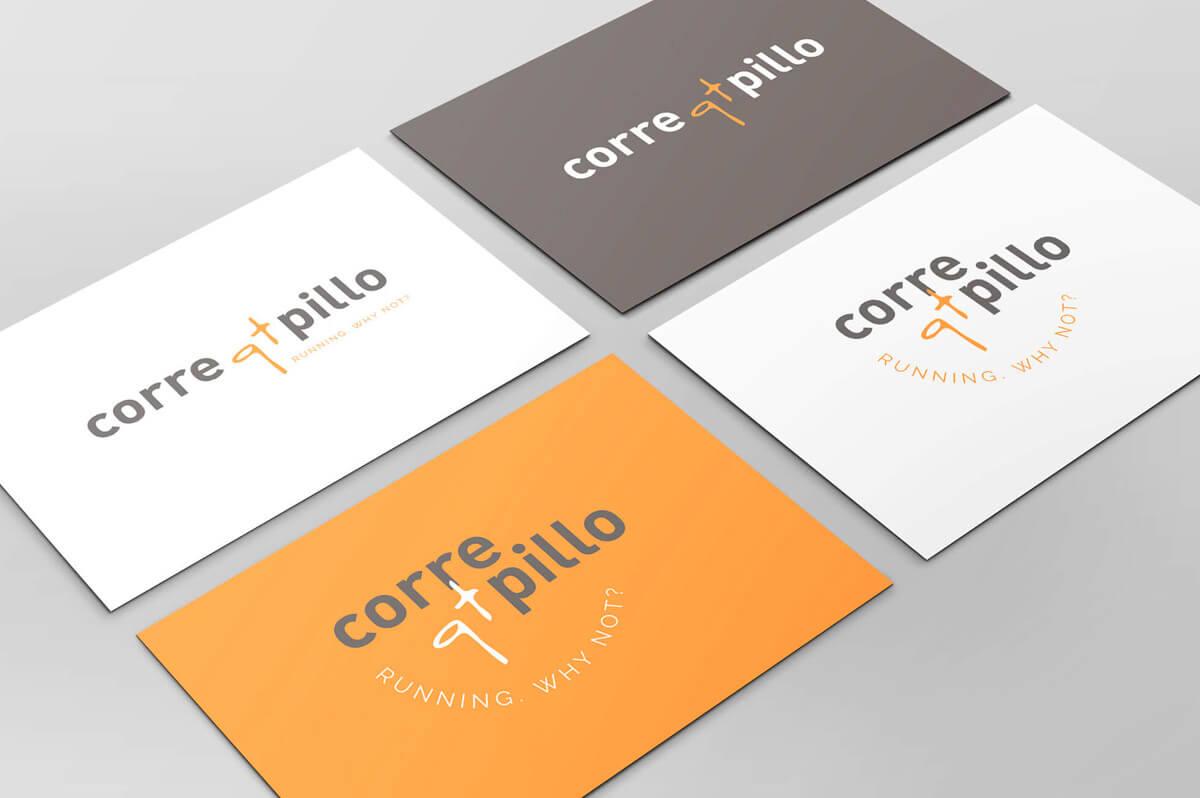 Diseño de personal branding para el blog de running Corre qt pillo