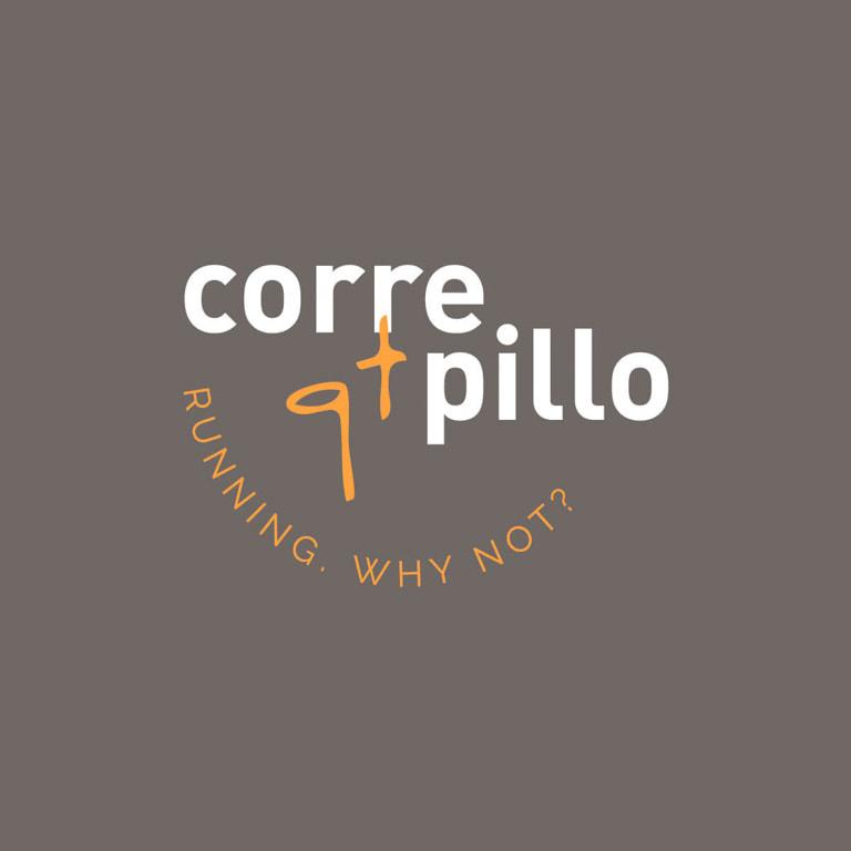 Diseño de logo para el Blog de running Corre qt pillo