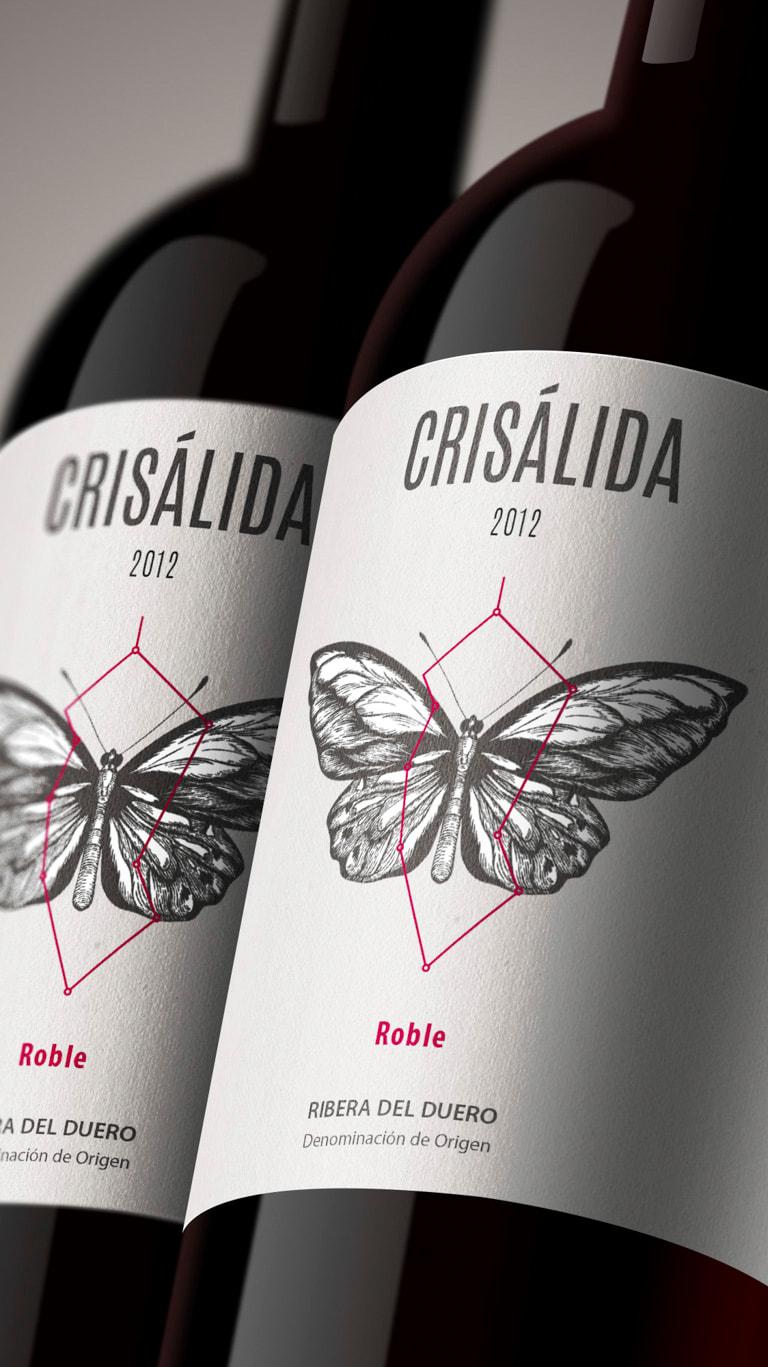 Diseño de branding y Naming para marca de Vino