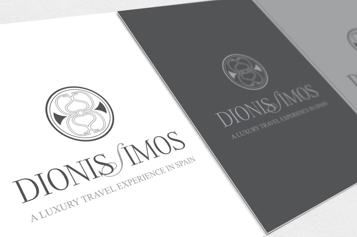 Diseño de Branding para la Agencia de Viajes Dionissimos