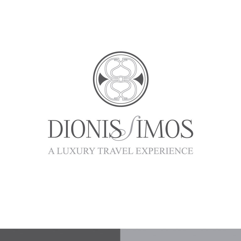 Diseño de logotipo para la Agencia de Viajes Dionissimos