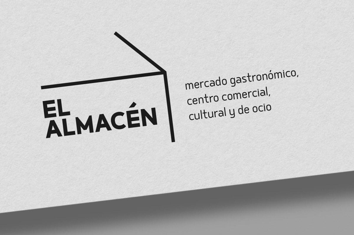 Imagen corporativa restaurante - Naming para El Almacén - Mercado gastronómico