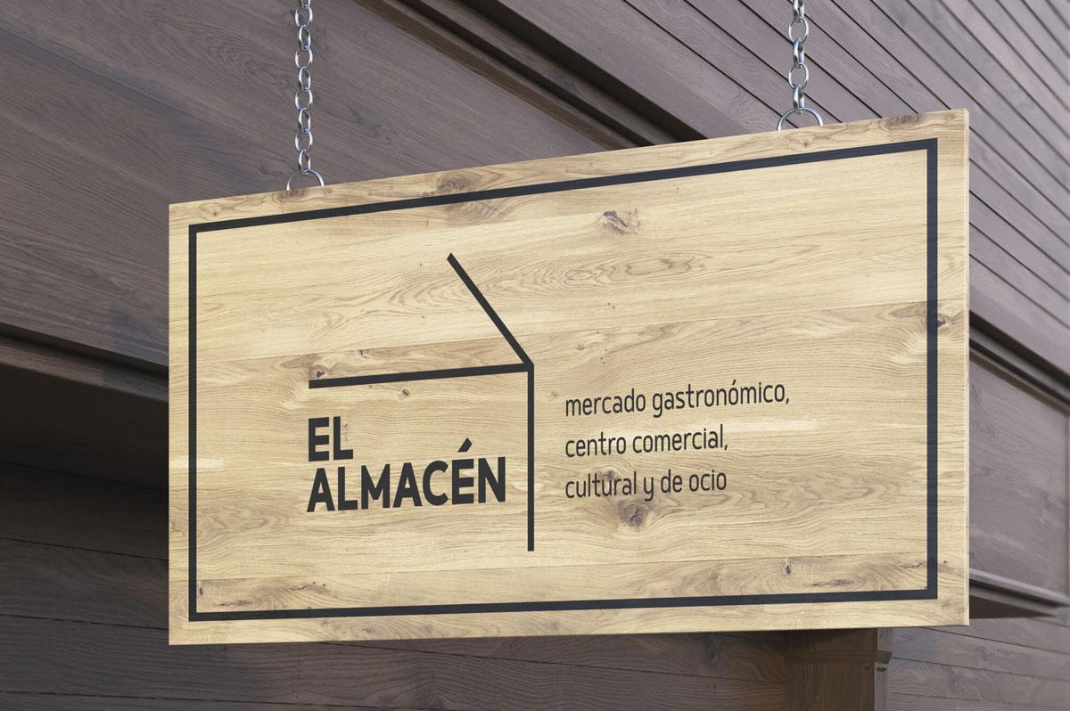 Diseño de logo para centro comercial