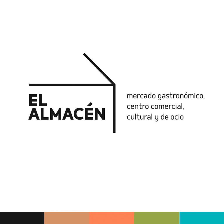 Diseño de la imagen de la empresa - Naming para El Almacén - Mercado gastronómico