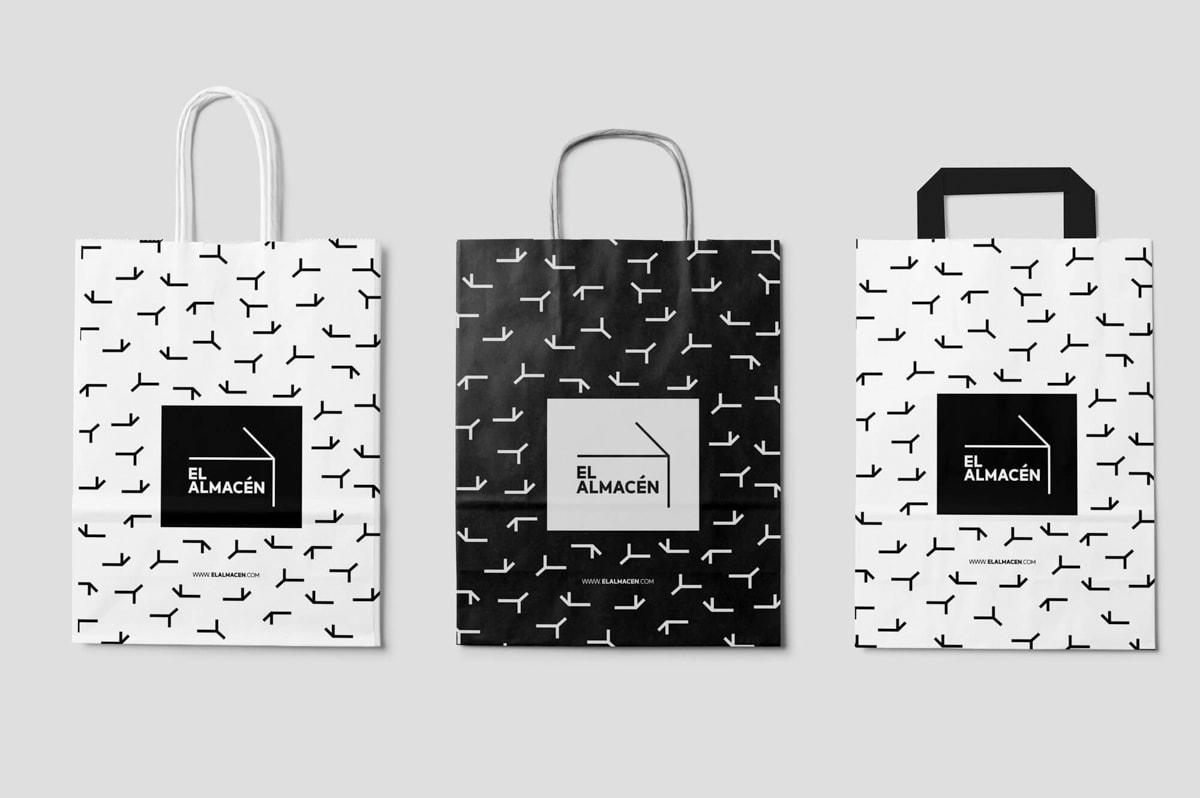 Diseño Gráfico para las bolsas de El Almacén