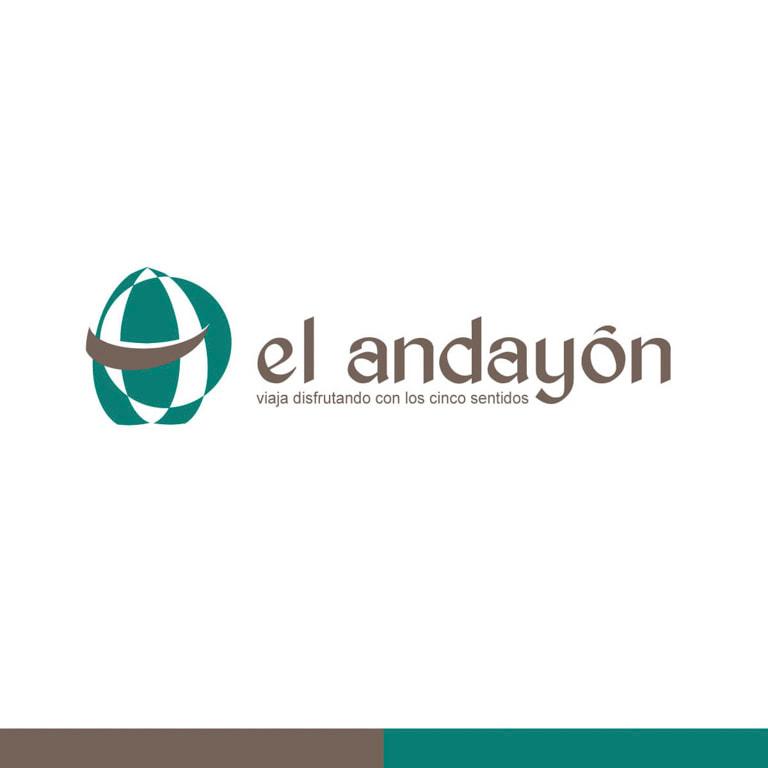 Diseño de branding de marca para la Agencia de viajes El Andayón