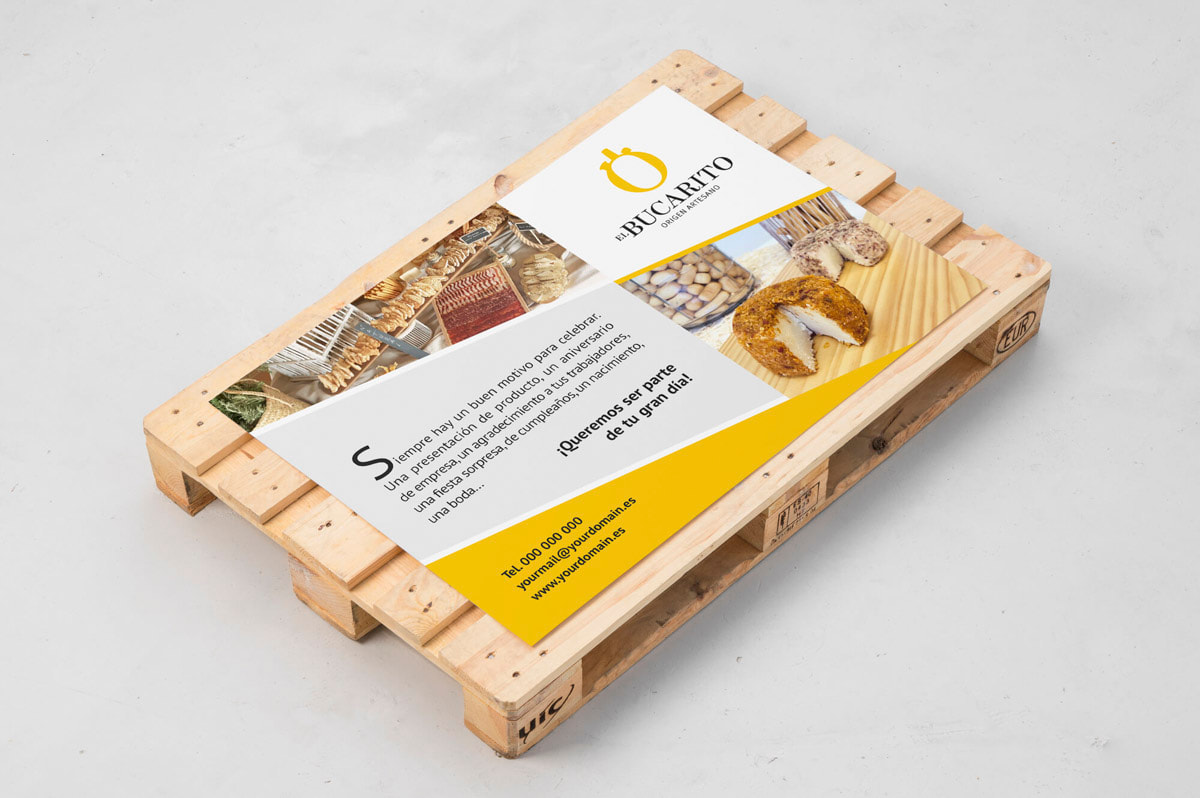 Diseño de cartelería para Quesos artesanos y embutidos El Bucarito