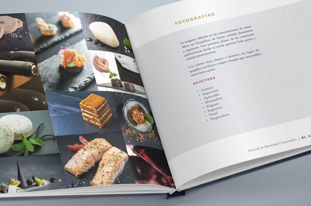 Branding manual de marca - Naming para El Comodoro - Restaurante