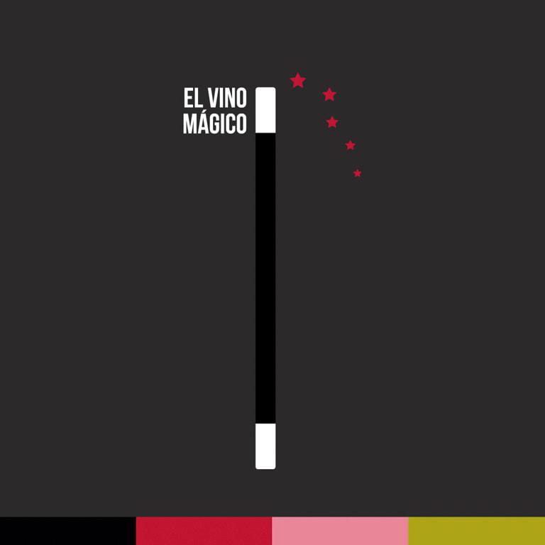 Director de arte diseño gráfico - Etiqueta de vino para El Vino Mágico - Vino