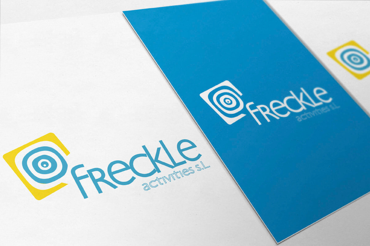 Diseño de imagen corporativa para Freckle Activities
