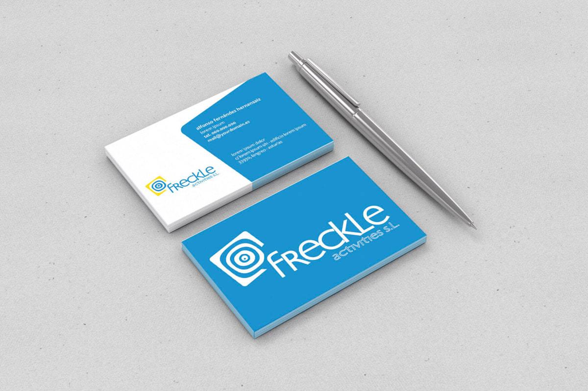 Diseño de imagen corporativa precios - Branding para Freckle Activities - Atención telefónica