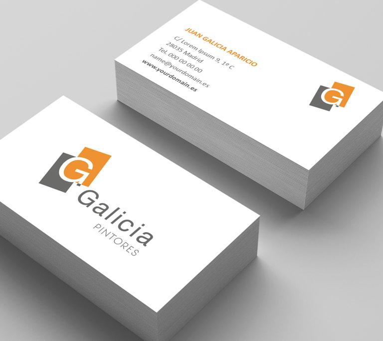 Branding para Galicia - Proyectos y obras