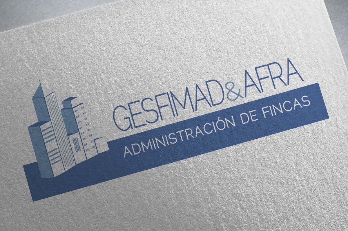 Diseño de logotipo para empresa de Administración de fincas