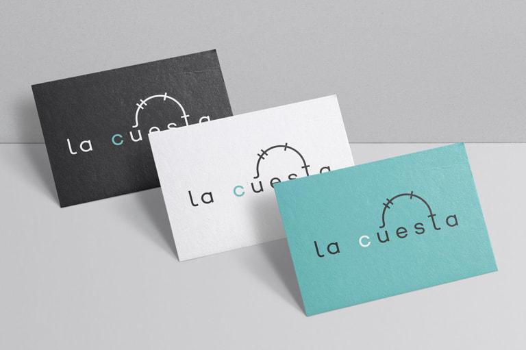 Diseño de logotipo para el Estudio Creativo La Cuesta