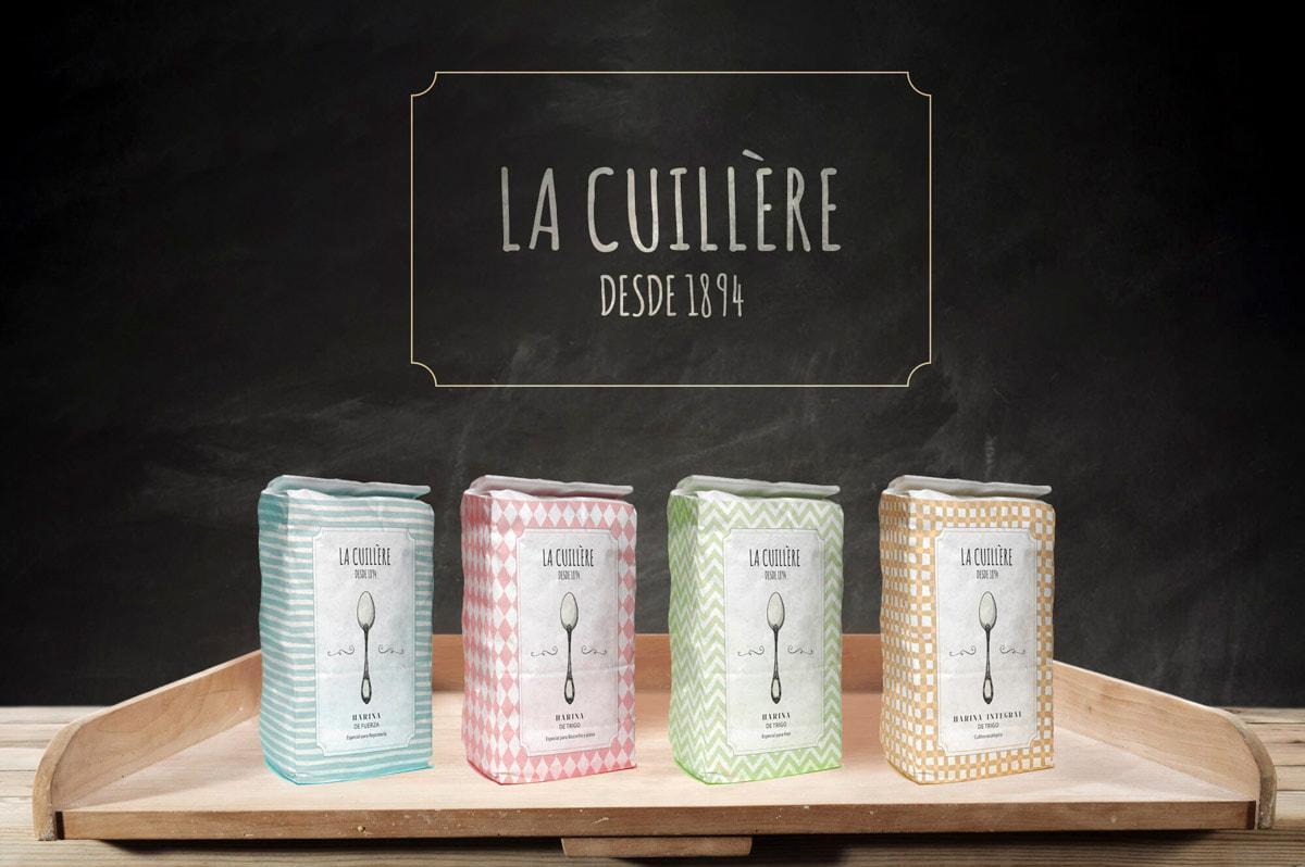 Diseño de packaging para Harinas La Cuillère