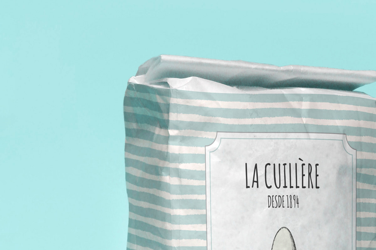 Diseño de packaging - Naming para La Cuillère - Harinas
