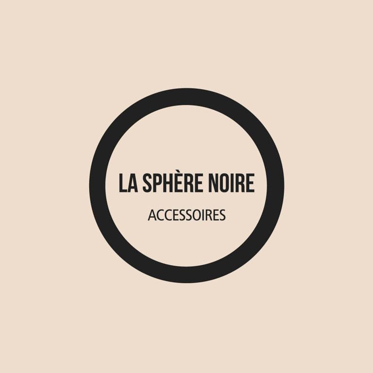 Branding para artistas - Naming para La Sphère Noire - Accesorios