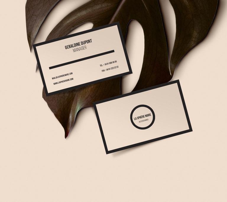 Naming para La Sphère Noire - Accesorios