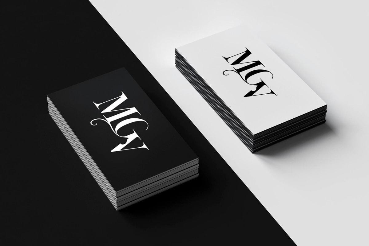 Diseño de tarjetas de visita originales para profesionales
