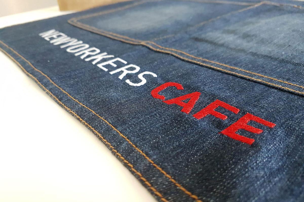 Diseño gráfico textil corporativo para Burger