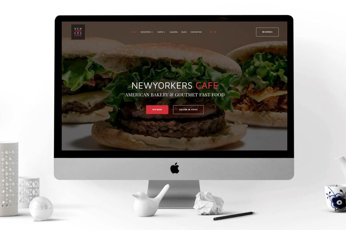 Diseño de Página web para Burger