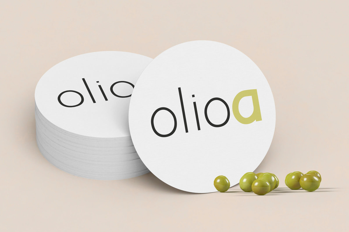 Logotipo original - Naming para Olioa - Aceites