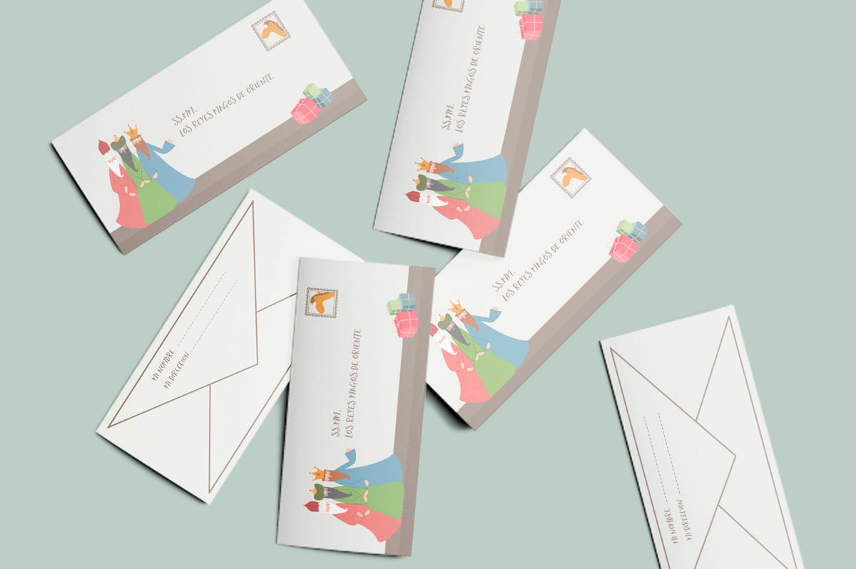 Diseño de sobres corporativos - Comunicación Gráfica para Pablo León - Fotografía