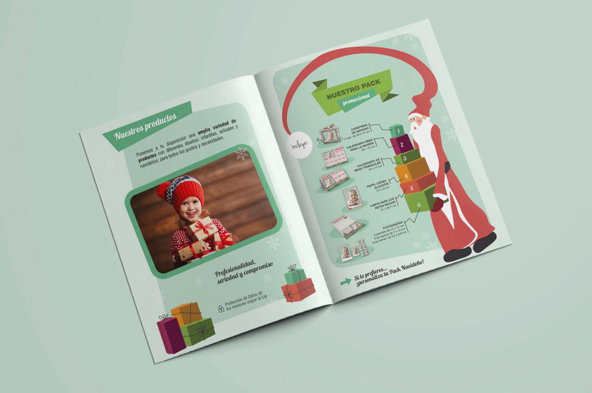 Diseño de folletos publicitarios - Comunicación Gráfica para Pablo León - Fotografía