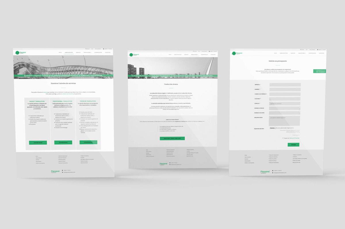 Diseño de páginas web para profesionales
