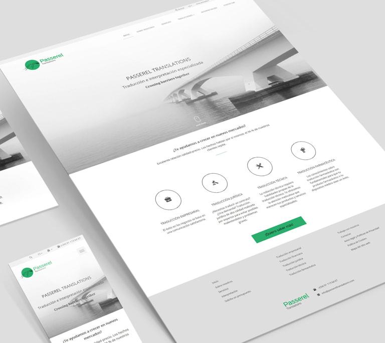 Creación de Página web para profesionales