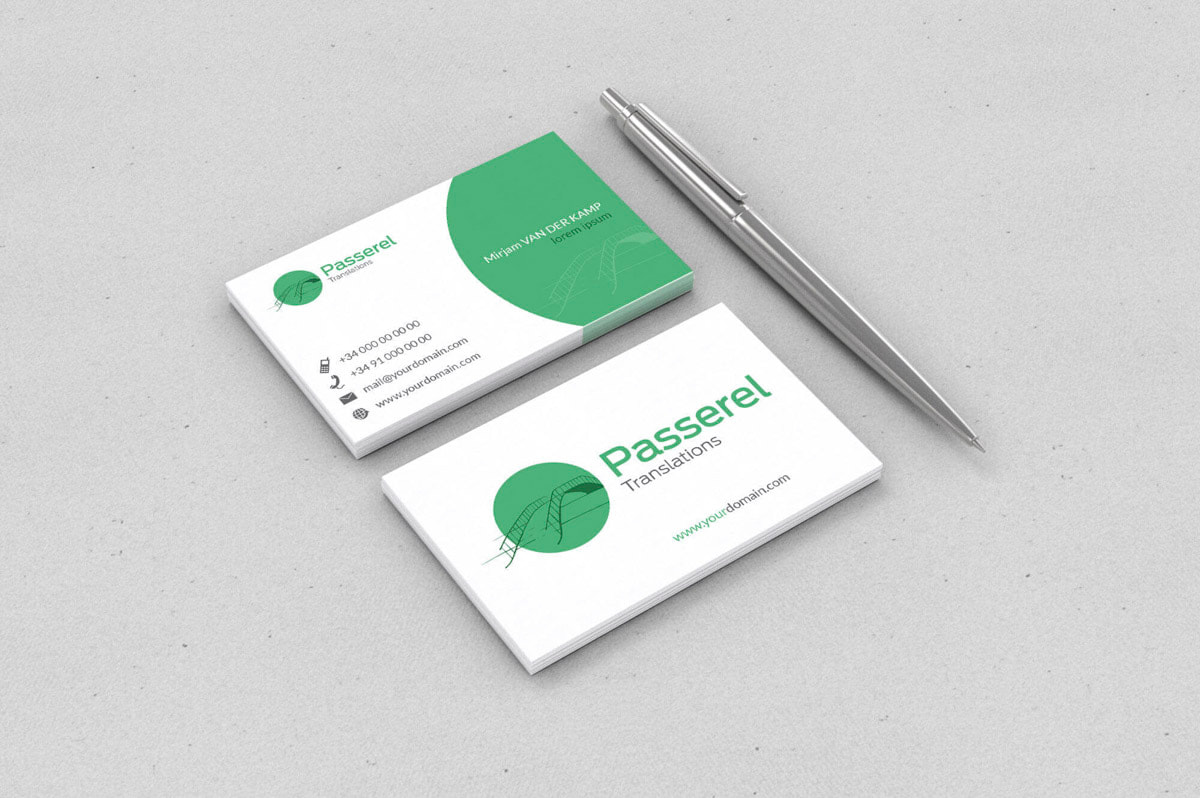 Diseño de tarjetas de visita para profesionales