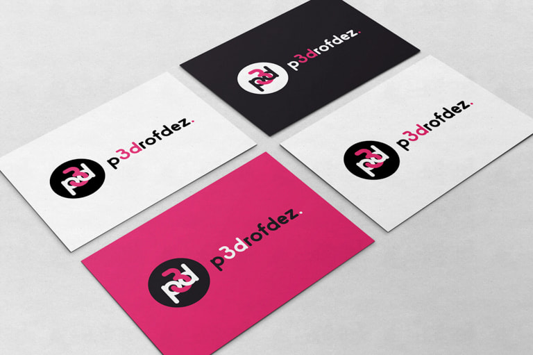 Branding para Pedro Fdez. - Artista 3D
