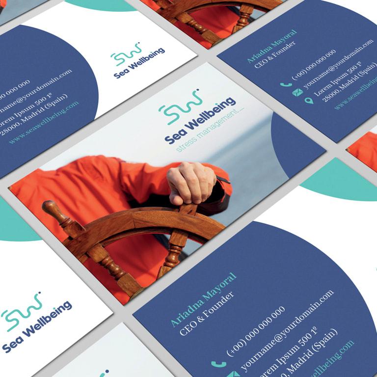 Branding para Sea Wellbeing