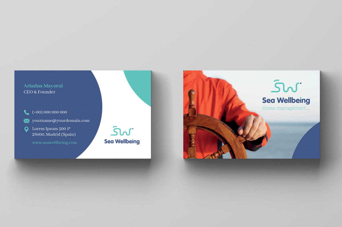 Branding para Sea Wellbeing - Stress Management
