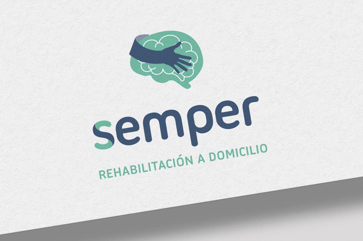 Diseño de logotipo para Semper