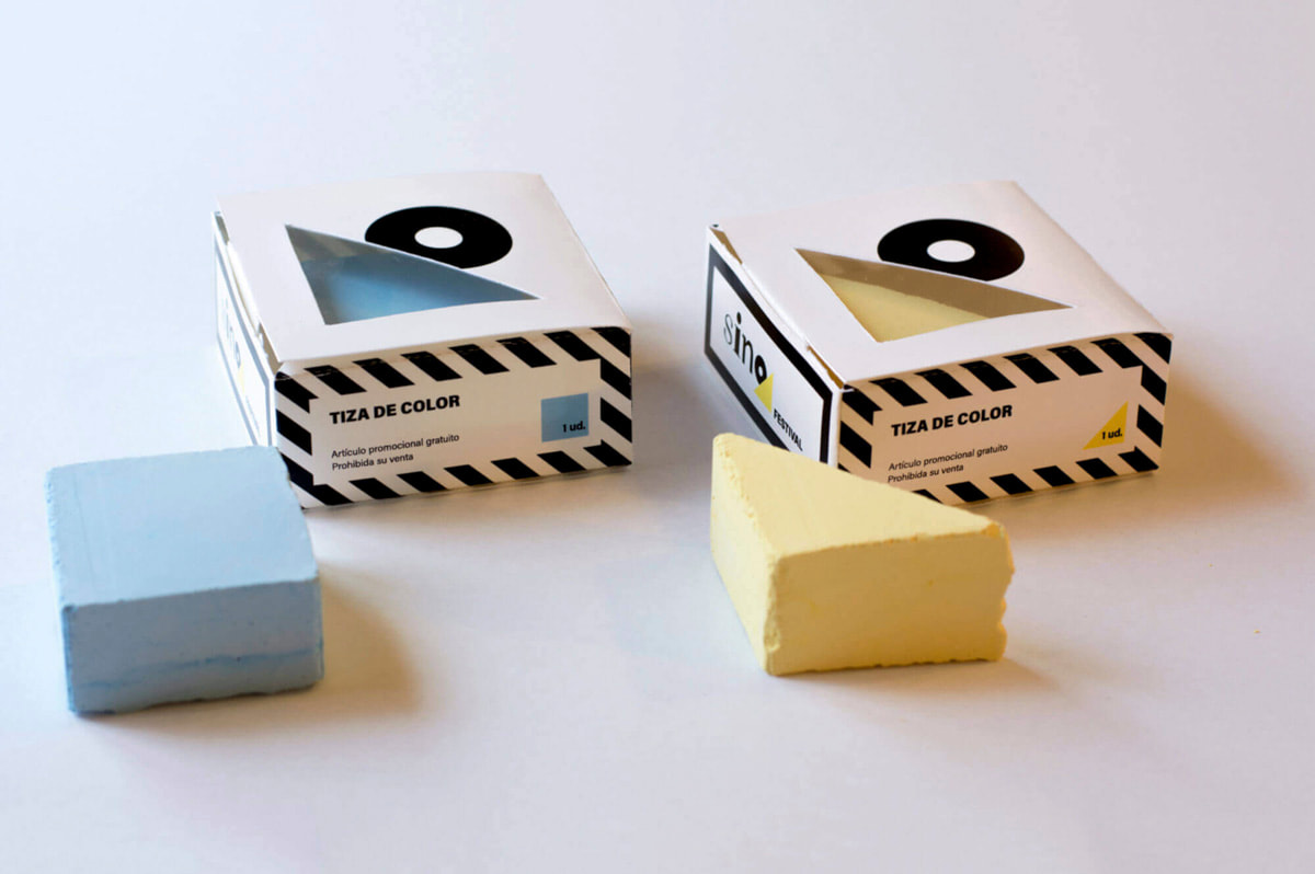 Packaging para artículos de regalo publicitario – Cajas de tizas de colores