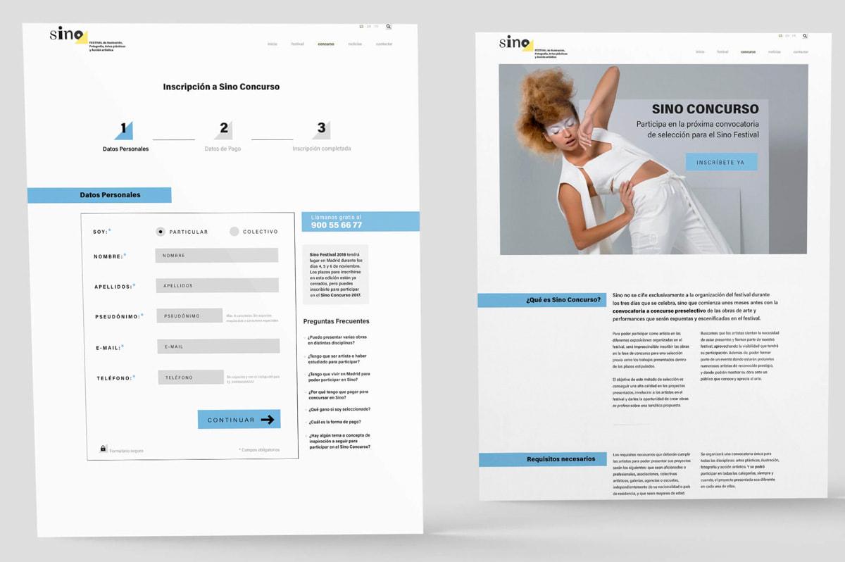 Diseño web, Seo y Branding, para evento