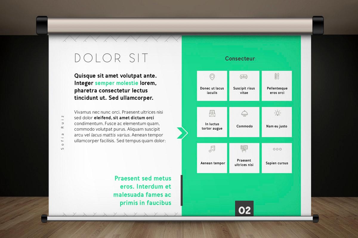 Diseño de presentaciones corporativas para Sofía Ruiz, Marketing y Comunicación