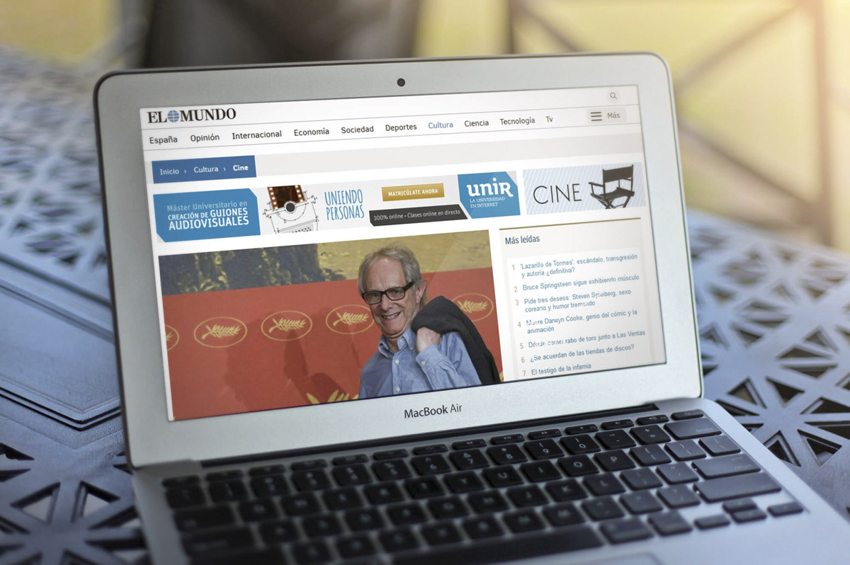 Comunicación Gráfica para UNIR - Universidad online a distancia