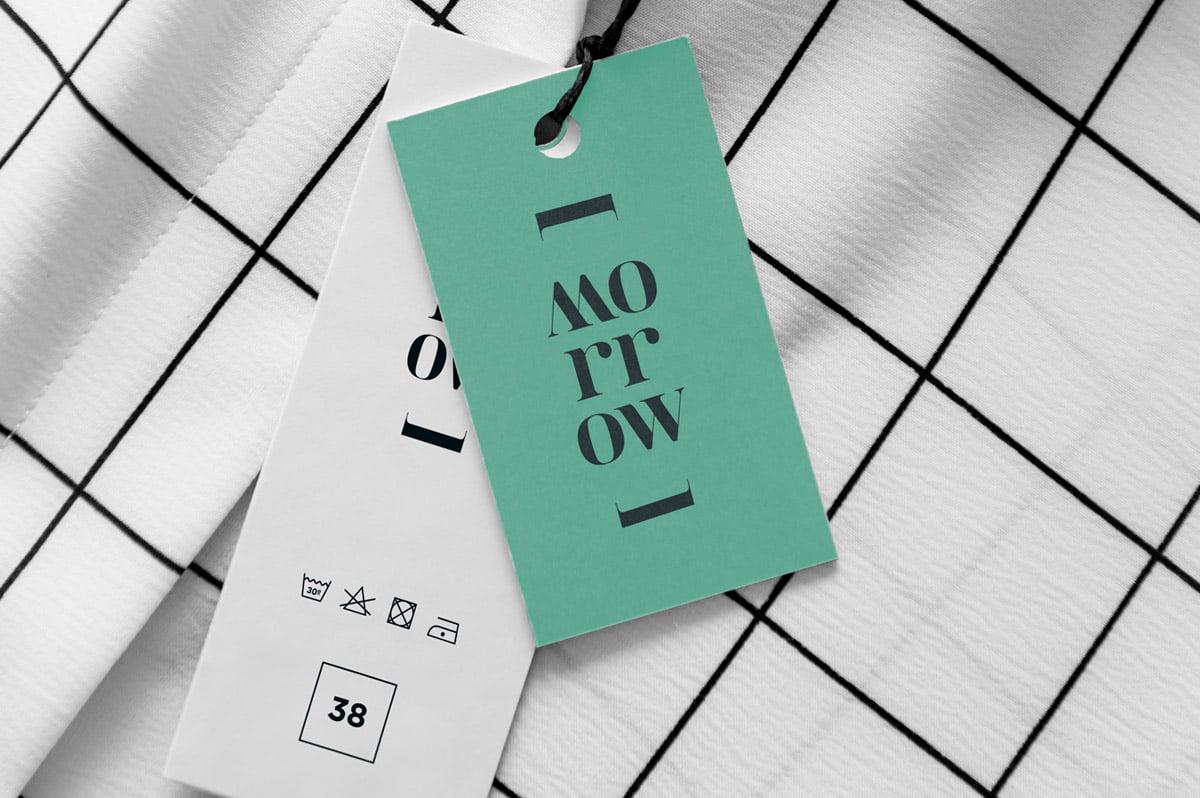Diseño de etiquetas para Diseñadora de moda